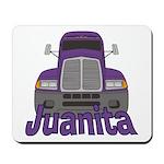 Trucker Juanita Mousepad