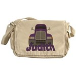 Trucker Judith Messenger Bag