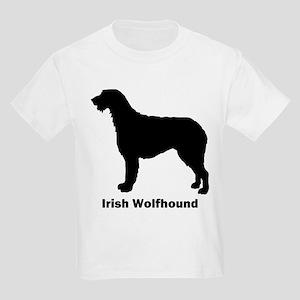 Irish Wolfhound Kids Light T-Shirt