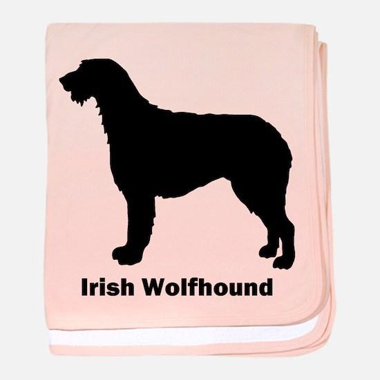 Irish Wolfhound baby blanket