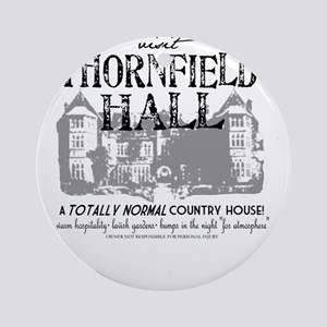 Visit Thornfield Hall Ornament (Round)