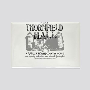Visit Thornfield Hall Rectangle Magnet