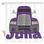 Trucker Julia Shower Curtain