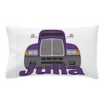 Trucker Julia Pillow Case