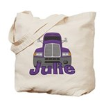 Trucker Julie Tote Bag