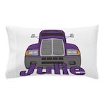 Trucker Julie Pillow Case