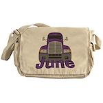Trucker June Messenger Bag