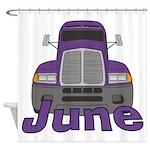Trucker June Shower Curtain