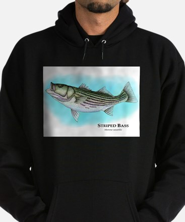 Striped Bass Hoodie (dark)