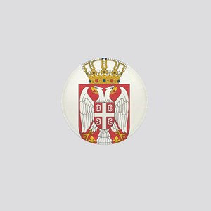 Serbia Lesser Coat Of Arms Mini Button