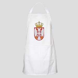 Serbia Lesser Coat Of Arms Apron