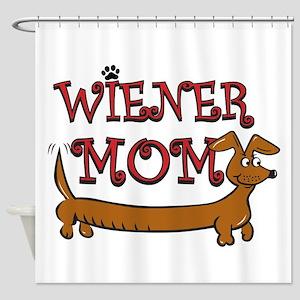 Wiener Mom/Oktoberfest Shower Curtain