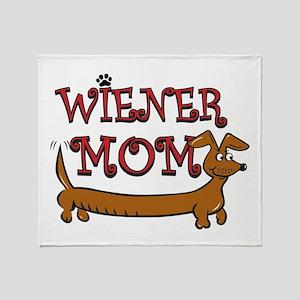 Wiener Mom/Oktoberfest Throw Blanket