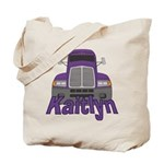 Trucker Kaitlyn Tote Bag