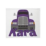 Trucker Kara Throw Blanket