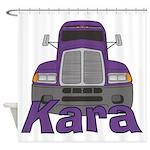 Trucker Kara Shower Curtain
