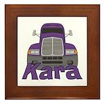 Trucker Kara Framed Tile