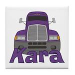 Trucker Kara Tile Coaster