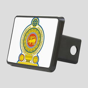 Sri Lanka Coat Of Arms Rectangular Hitch Cover