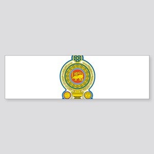 Sri Lanka Coat Of Arms Sticker (Bumper)