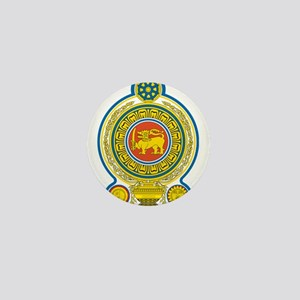Sri Lanka Coat Of Arms Mini Button