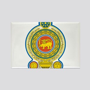 Sri Lanka Coat Of Arms Rectangle Magnet