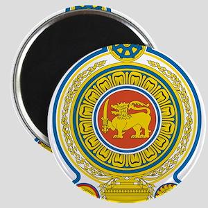 Sri Lanka Coat Of Arms Magnet