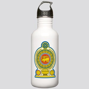Sri Lanka Coat Of Arms Stainless Water Bottle 1.0L