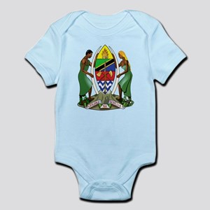 Tanzania Coat Of Arms Infant Bodysuit