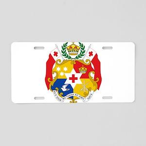 Tonga Coat Of Arms Aluminum License Plate