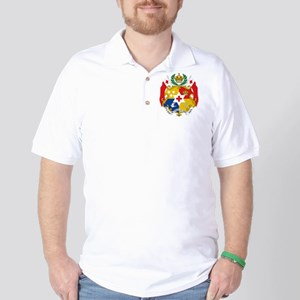 Tonga Coat Of Arms Golf Shirt