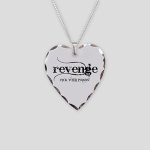 Revenge PICK YOUR POISON Necklace Heart Charm