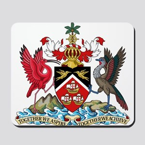 Trinidad and Tobago Coat Of Arms Mousepad