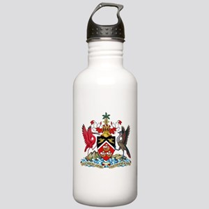 Trinidad and Tobago Coat Of Arms Stainless Water B