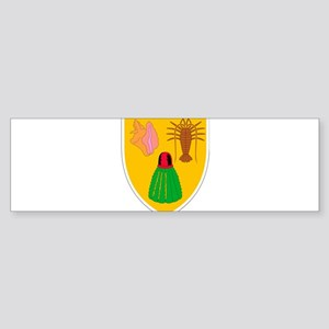 Turks and Caicos Coat Of Arms Sticker (Bumper)