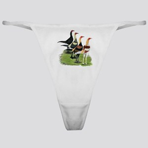 Modern Game Roosters Classic Thong
