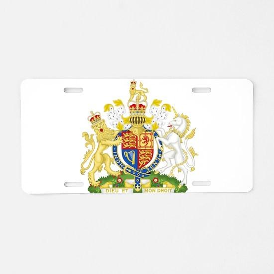 United Kingdom Coat Of Arms Aluminum License Plate