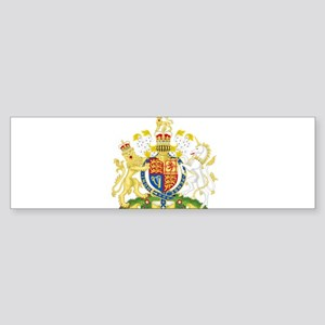 United Kingdom Coat Of Arms Sticker (Bumper)