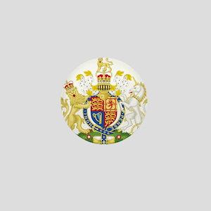 United Kingdom Coat Of Arms Mini Button