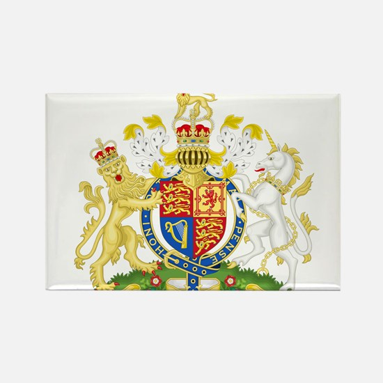 United Kingdom Coat Of Arms Rectangle Magnet