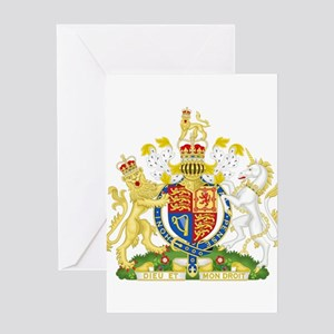 United Kingdom Coat Of Arms Greeting Card
