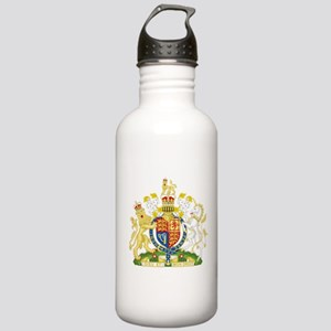 United Kingdom Coat Of Arms Stainless Water Bottle