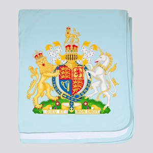 United Kingdom Coat Of Arms baby blanket