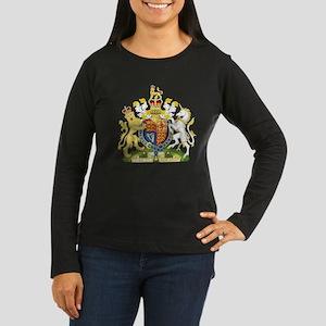United Kingdom Coat Of Arms Women's Long Sleeve Da