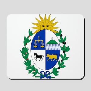 Uruguay Coat Of Arms Mousepad
