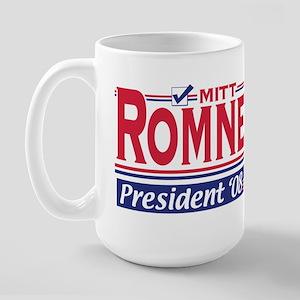 Mitt Romney 2008 Gear Large Mug