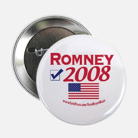 Mitt Romney 2008 Gear Button