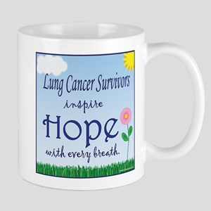 Lung Cancer Survivors Inspire Hope! Mug