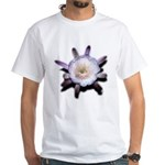 Monster Flower White T-Shirt