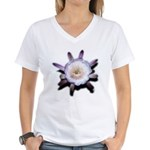 Monster Flower Women's V-Neck T-Shirt